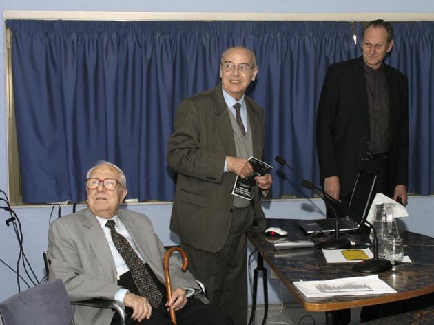 Joaquím Mateu, Jordi Ribas i Oleguer Escolà. Foto: J. Vdal