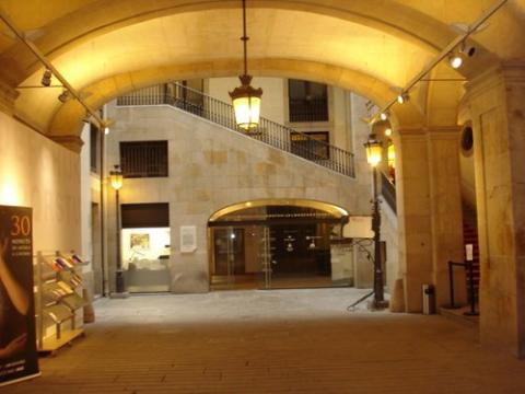 Entrada a l'Ateneu barcelonés. Foto de Robert Morancho